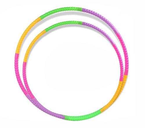 Children Hula Hoop for Fitness, 7 Piece Segmented, Workout for Kids, Exercise Dancing Games - 19.6 inch