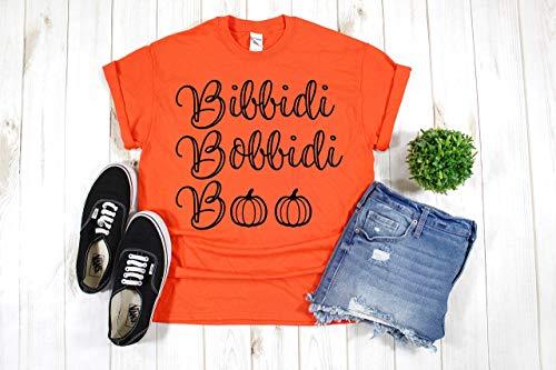 Mickey's Not So Scary Halloween Party Costumes (Disney Halloween Shirt T-Shirt for Women Girls Pumpkin Bibbidi)
