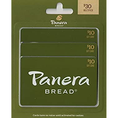 Panera Bread Gift Cards, Multipack of 3