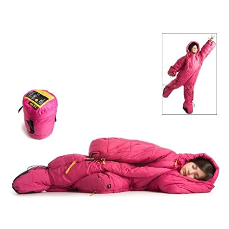 Mountains Best Gear SelkBag 3G 44 Synthetic Saco de dormir - Kids Fuschia