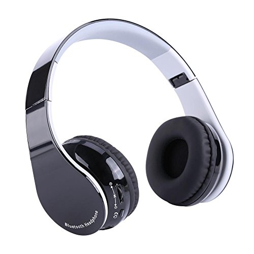 Acogedor Headset Gaming for PS4 Foldable Bluetooth4.1 HiFi Stereo Wireless Gaming Headset for PS4 with Tiny Receiver by Acogedor