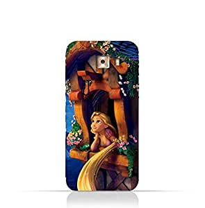 Samsung Galaxy J5 Prime TPU Silicone Protective Case with Rapunzel Design