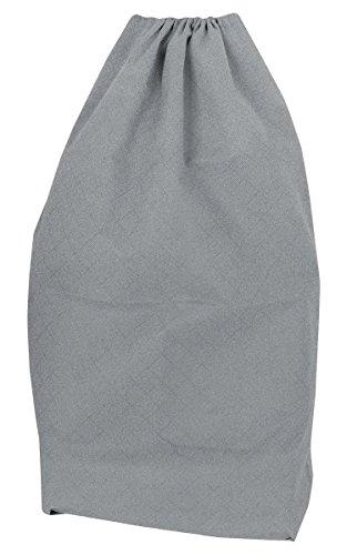 (Arm & Hammer Jumbo Drawstring Laundry Bag, Gray)