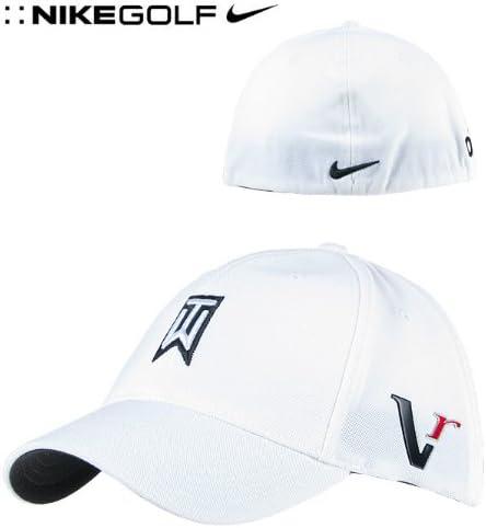 Viaje Valiente Multa  New Unisex Nike Golf Tiger Woods Fitted Cap Large / Extra Large White Fully  Logoed: Amazon.co.uk: Sports & Outdoors