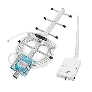 ANNTLENT Amplificador de Señal Teléfono Celular 2G Band 8 900MHz gsm Repetidor GANA 65dB con Whip