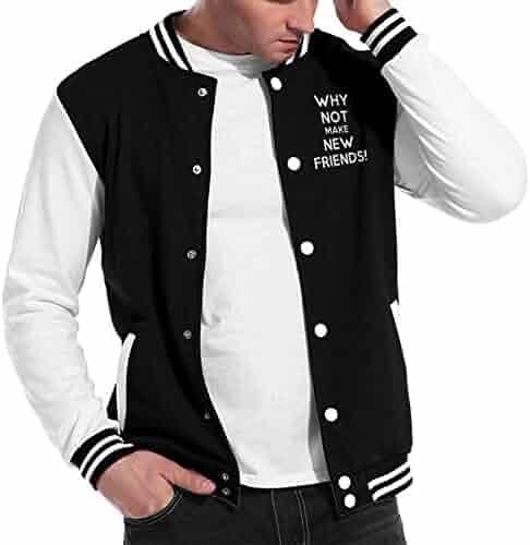 KOESON Men/'s Fur Hood Leisure Thermal Jacket Casual Windproof Long Sleeve Down Coat