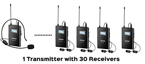 Mtg-100 Wireless Tour Guiding Guide Church 650-680mhz 1 T...