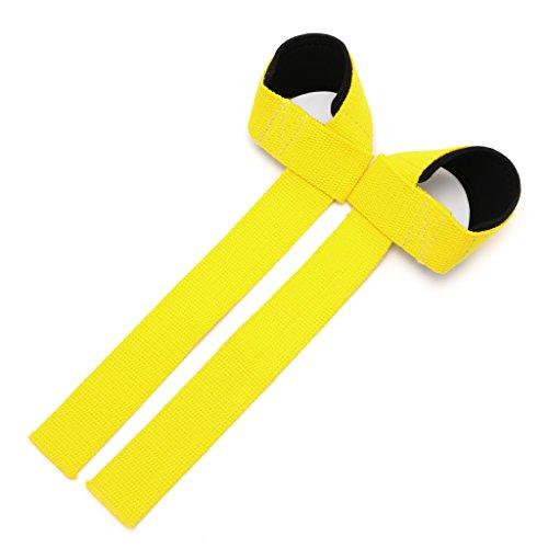 Usdepant Wrist Strap for Weight Lifting Bodybuilding Gym Training, Wrist Strap for Men Women