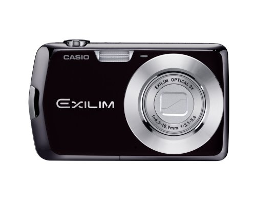 Casio Exilim EX-S5 10MP Digital Camera with 3x Optical Zoom and 2.7 inch LCD (Black)
