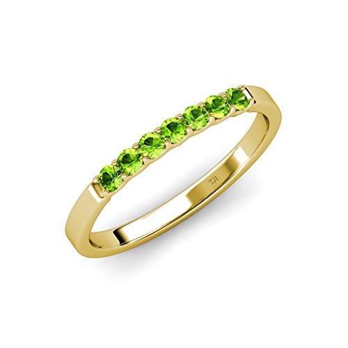 0.25 Ct Peridot Ring - 2