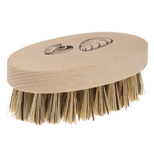Redecker Mussel Brush with Natural Beechwood Handle, 3-3/4-Inches, Set of 2 by REDECKER (Image #2)'