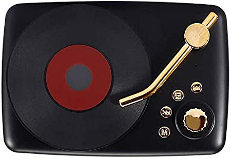 xiegons0 Radio Retro Reproductor, USB Recargable Tocadiscos ...