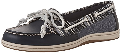Sperry Top-sider Kvinna Fire Denim Rand Marin Oxford