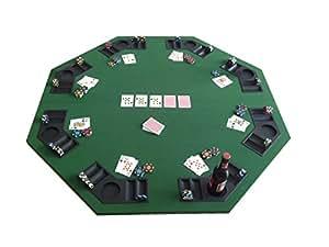 Tenive deluxe 8 player position foldable poker for 12 seater poker table