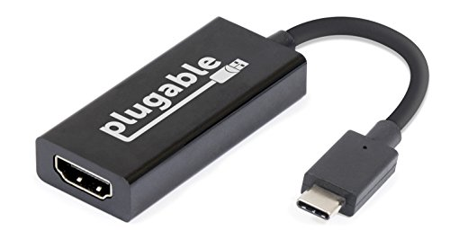 Plugable USB C to HDMI 2.0 Adapter for 2018 MacBoo...