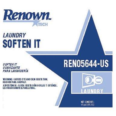 Renown REN05644-US Rt Laundry Soften, 15 gal
