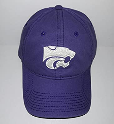 Kansas State Wildcats Adjustable Buckle Hat 3D Embroidered Cap from The Game