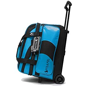 Pyramid Path Deluxe Double Roller Bowling Bag (Asgard Blue)