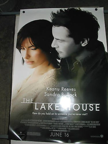THE LAKE HOUSE / ORIGINAL U S  ONE-SHEET MOVIE POSTER (SANDRA