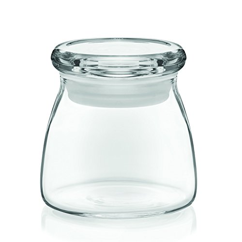 libbey vibe mini glass spice jars with lids set of 12 import it all. Black Bedroom Furniture Sets. Home Design Ideas