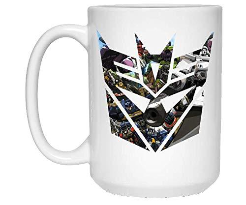 Decepticon G1 - Mug - Inspired by Transformers- Coffee Mug, Tea Mug, Cute Mug - Gift, cute gift, Souvenir, 11oz, 15oz