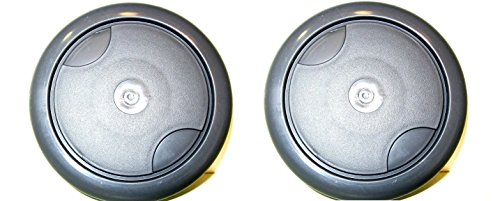 (Kenmore Vacuum Canister Rear Wheel 4.5 Inch - 4369337 - 2 Pack )