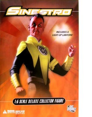 Sinestro 1/6 Scale Deluxe Collector's Figure 1/6 Scale Deluxe Collector