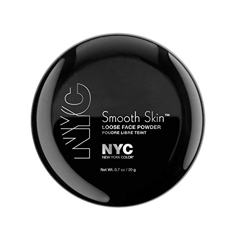 (N.Y.C. New York Color Smooth Skin Loose Face Powder, Translucent, 0.7 Ounce)
