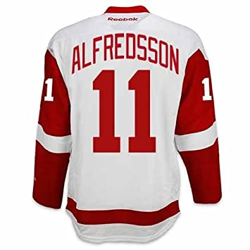 ... brand new b04e3 ce22a Daniel Alfredsson Detroit Red Wings Road Jersey  by Reebok a1fb1b954