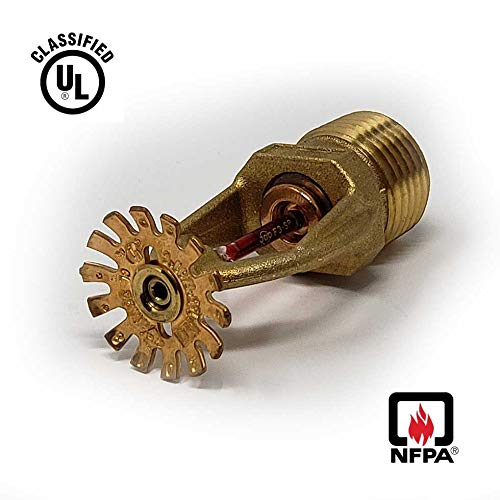Trash Chute Sprinkler Heads - Garbage & Laundry Automatic Fire NFPA