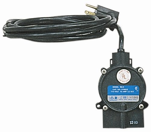 Little Giant 599008 115 Volt RS-5 Piggyback Diaphragm Switch (5 Msp Submersible Pump)