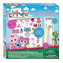 Lalaloopsy Tattoo Kit]()
