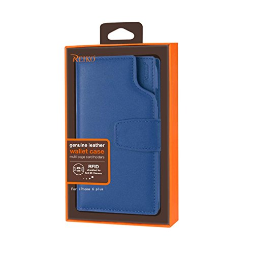Reiko Genuine Leather Flip Wallet Case With Multi-Page for sale  Delivered anywhere in Canada