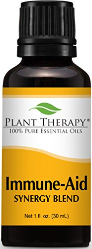 Plant Therapy Immune Aid Synergy Essential Oil 30 mL (1 oz) 100% Pure, Undiluted, Therapeutic Grade ()