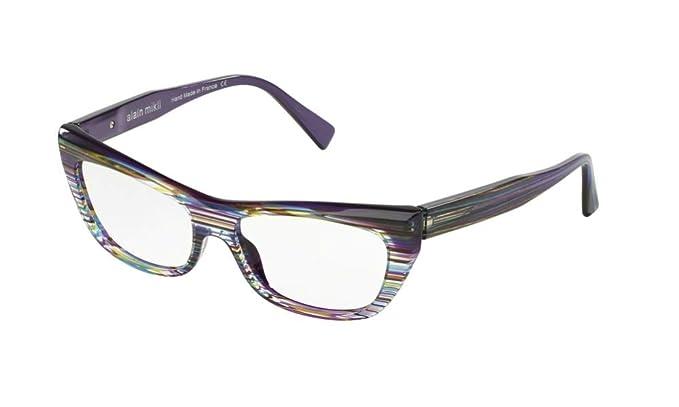 28346a1709c Alain Mikli - Monture de lunettes - Femme Multicolore Millerighe Cristallo  Yellow Violet Wires Viole-