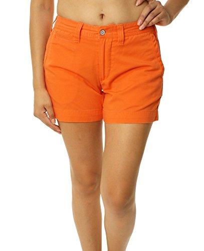 (Polo Ralph Lauren Womens Chino Shorts-Size 2 Beta Orange)