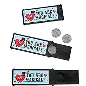 Valentine's Day Valentine Magic Coin Tricks Classroom Sharing Party (12)