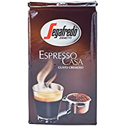 Segafredo Casa Ground Coffee 4 Packs 8.8oz/250g Each