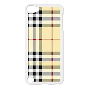 Custom Check Pattern Back Cover Case for ipod Touch 5 JNIPOD5-029