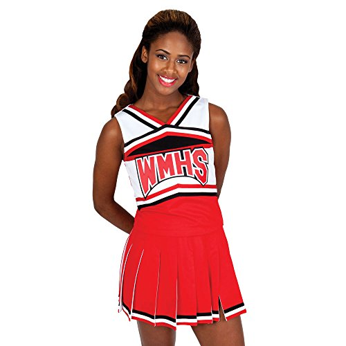Glee Inspired Cheerleader Halloween Costume (Adult X-Large) ()