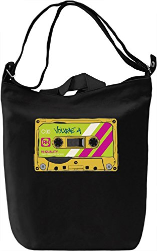 Casette Borsa Giornaliera Canvas Canvas Day Bag| 100% Premium Cotton Canvas| DTG Printing|