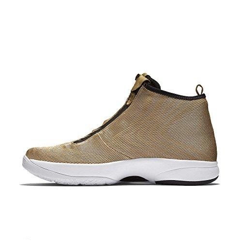 Nikw Men's Zoom Kobe Icon Jacquard Basketball Shoes-Metallic Gold/Black-11.5