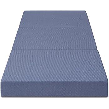 Amazon Com Memory Foam Folding Guest Bed Mattress
