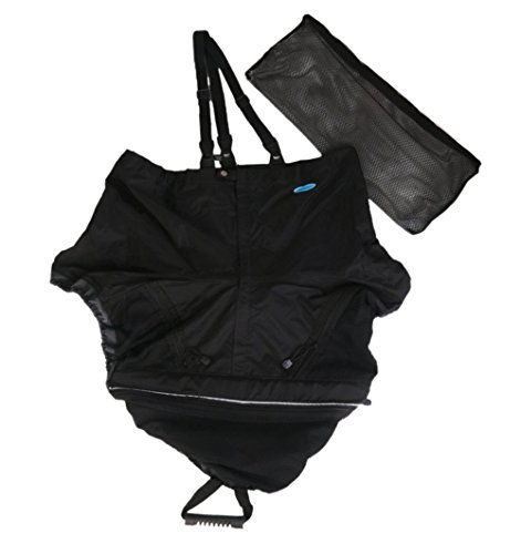 Kayak Spray Skirt Universal Deck Black Accessories Skirt by Canoe