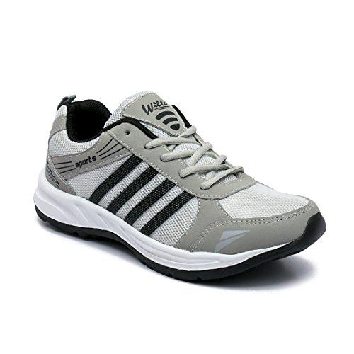 41hI6JpH hL. SS500  - ASIAN Wonder-13 Grey Black Running Shoes for Men
