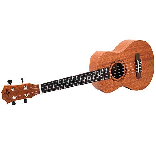 JVSISM 26 Pulgadas Ukulele Tenor Sapele Guitarra Ac/úStica Hawaii Kits Completos Ukulele Guitarra para Principiantes
