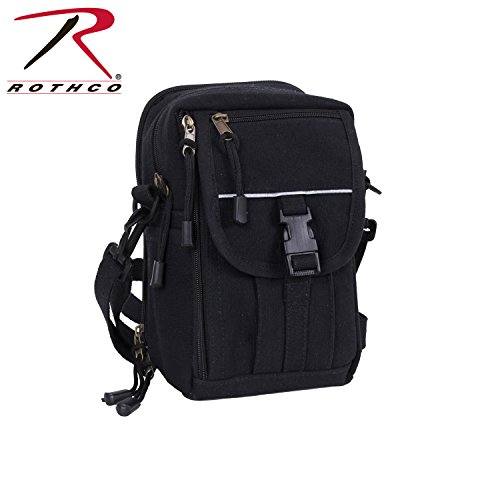 Rothco H/W Canvas Classic Passport Travel Pouch, Black by Rothco