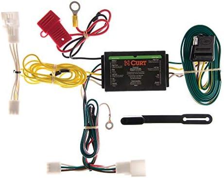 curt 56147 vehicle-side custom 4-pin trailer wiring harness for select  toyota prius: automotive - amazon.com  amazon.com