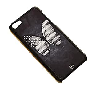 1888998236699 [Global Case] United States of America Flag USA New York Vintage California NYC Washington Greatest Country Democrats Republican 4th of July Declaration of Independence Papillon (BLACK CASE) Snap-on Cover Shell for BLACKBERRY (RIM) Z10
