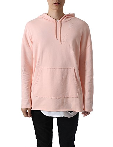 JD Apparel Disressed Oversized Sweatshirts product image